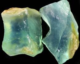 12.95 CTS  GREEN TINGE A GRADE PERU OPAL PARCEL ROUGH[VS7721]
