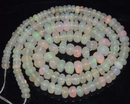 48.15 Ct Natural Ethiopian Welo Opal Beads Play Of Color