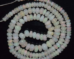 54.50 Ct Natural Ethiopian Welo Opal Beads Play Of Color