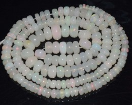 51.15 Ct Natural Ethiopian Welo Opal Beads Play Of Color