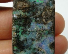 33.50 CT WOOD REPLACEMENT BOULDER OPAL   S01345