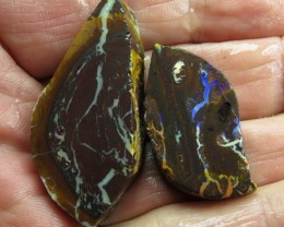 O/L 125cts.ROUGH BOULDER MATRIX OPAL.