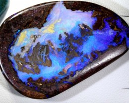50.9 CTS QUALITY BOULDER OPAL POLISHED STONE INV-741 GC T-86