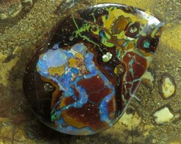 "28cts.""BOULDER MATRIX OPAL~WE ARE MINERS"""