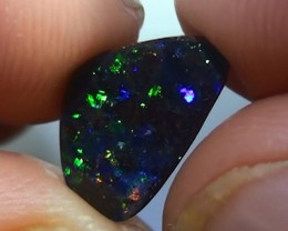 2.30 ct Gem Multi Color Color Natural Queensland Boulder Opal