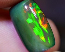 2.40 CRT BRILLIANT DELUXE GOLDEN NEON PUZZLE PATTERN SMOKED WELO OPAL