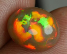 3.70 CT Gorgeous Natural Brownbase Welo Opal