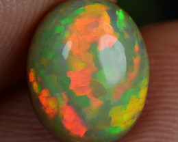 2.10 CT Double layered Dark Snakeskin Opal