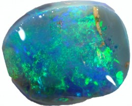 2.90 CTS BLACK  OPAL ROUGH-PRE RUBBED [BR5365]