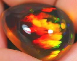 10.46Ct Rainbow Broadflash Ethiopian Welo Specimen Crystal Opal