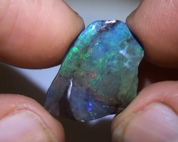 6.85 ct Boulder Opal With Multi Color