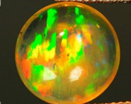 ~FIRE~ 4.41 Cts Natural Ethiopian Color Play Opal