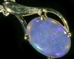 Cute Crystal Opal 18k pendant  CF 933