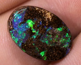 8ct 16x11mm Queensland Boulder Opal  [LOB-569]