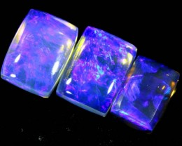 3.95 CTS CRYSTAL OPAL POLISHED PARCEL 3PCS TBO- 6790