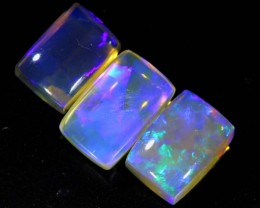 3 CTS CRYSTAL OPAL POLISHED PARCEL 3PCS TBO-6791