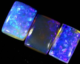 3.2 CTS CRYSTAL OPAL POLISHED PARCEL 3PCS TBO-6793