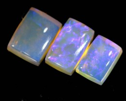 4 CTS CRYSTAL OPAL POLISHED  PARCEL 3PCS TBO-6798