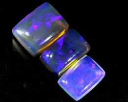 2.8 CTS CRYSTAL OPAL POLISHED PARCEL 3PCS TBO-6804