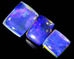 4.25 CTS CRYSTAL OPAL POLISHED PARCEL 3PCS TBO-6808