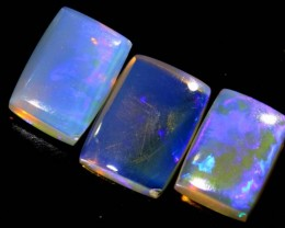 3.3 CTS CRYSTAL OPAL POLISHED PARCEL 3PCS TBO-6809