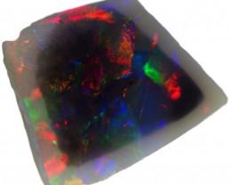 1.60 CTS  BLACK OPAL ROUGH-RED [BR5454] SAFE
