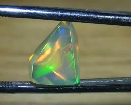 3.10 ct Ethiopian Gem Color Carved Freeform Welo Opal