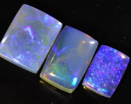 4.45 CTS CRYSTAL OPAL POLISHED PARCEL 3PCS TBO-6811