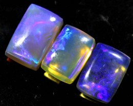 3.25 CTS CRYSTAL OPAL POLISHED PARCEL 3PCS TBO-6812