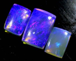 3.10 CTS CRYSTAL OPAL POLISHED PARCEL 3PCS TBO-6814
