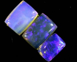 3.9 CTS CRYSTAL OPAL POLISHED PARCEL 3PCS TBO-6823