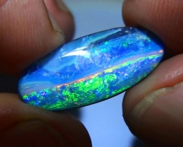 9.85 ct Gem Multi Color Natural Queensland Boulder Opal