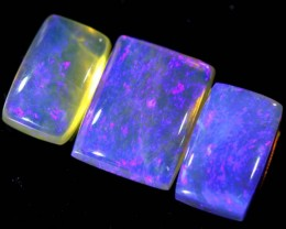 3.9 CTS CRYSTAL OPAL POLISHED PARCEL 3PCS TBO-6826