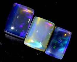 4.25 CTS CRYSTAL OPAL POLISHED PARCEL 3PCS TBO-6830