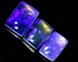 3.25  CTS CRYSTAL OPAL POLISHED PARCEL 3PCS TBO-6835