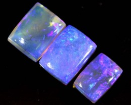 4.4 CTS CRYSTAL OPAL POLISHED PARCEL 3PCS TBO-6836