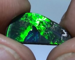 2.50 ct Boulder Opal Natural Electric Gem Blue Green Color