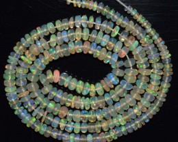 28.40 Ct Natural Ethiopian Welo Opal Beads Play Of Color
