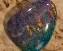 12.8 ct Solid Matrix opal from Andamooka
