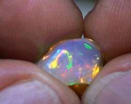 3.60 ct Ethiopian Gem Color Carved Free form Welo Opal