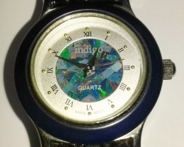 Beautiful Ladies Mosiaic Australian Opal Watch