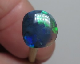 1.18Ct Lightning Ridge Black Opal stone