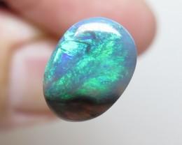1.60Ct Lightning Ridge Black Opal stone