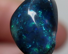1.79Ct Lightning Ridge Black Opal stone