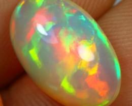4.00cts Splendid Ribbon Pattern Ethiopian Opal