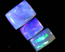 4.35CTS CRYSTAL OPAL POLISHED PARCEL 3PCS TBO-6874
