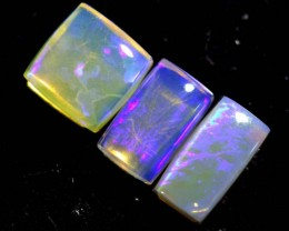 1.25 CTS CRYSTAL OPAL POLISHED PARCEL 3PCS TBO-6896