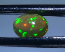 1.0 ct Ethiopian Gem Color Welo Opal Cab