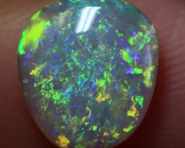 Lightning Ridge Solid Crystal Opal Stone 1.24ct