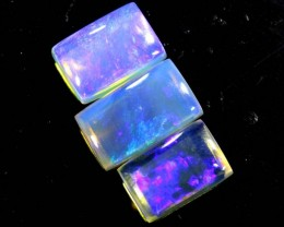 1.5 CTS CRYSTAL OPAL POLISHED PARCEL 3PCS TBO-6914